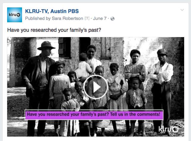KLRU family past