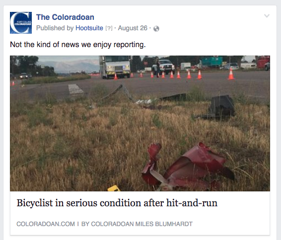 CO bicyclist