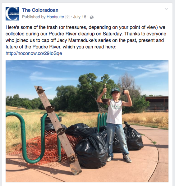 CO river cleanup