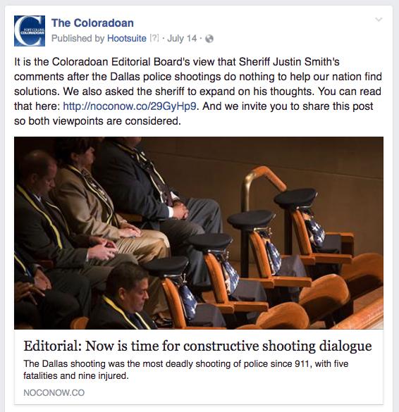 CO shootings editorial