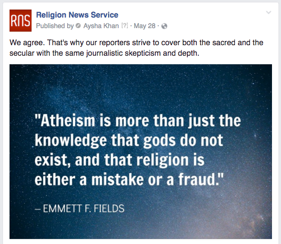 RNS atheism