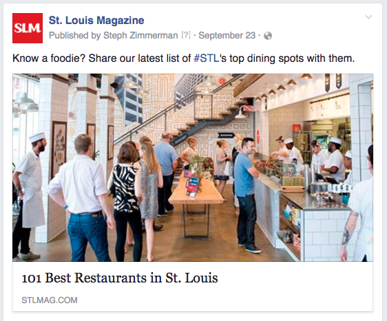 STL foodie share