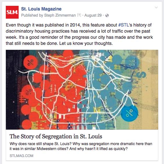 STL segregation conversation