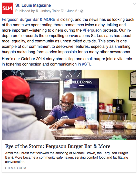 STL Ferguson closing