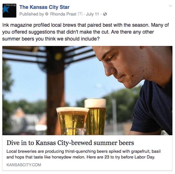 KC summer beer