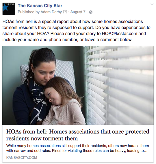 KC HOA crowdsource