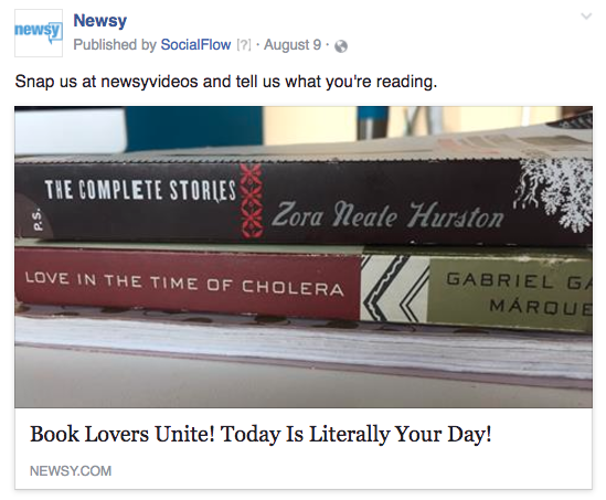 Newsy Snapchat books