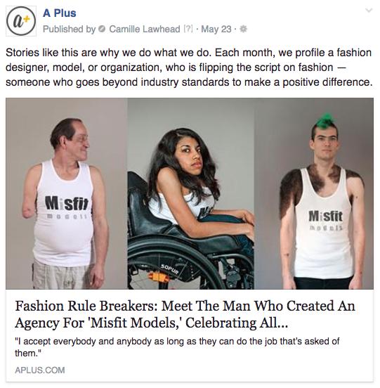 A Plus misfit models
