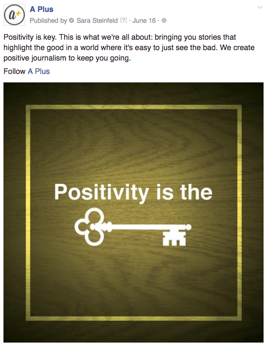 A Plus positivity key