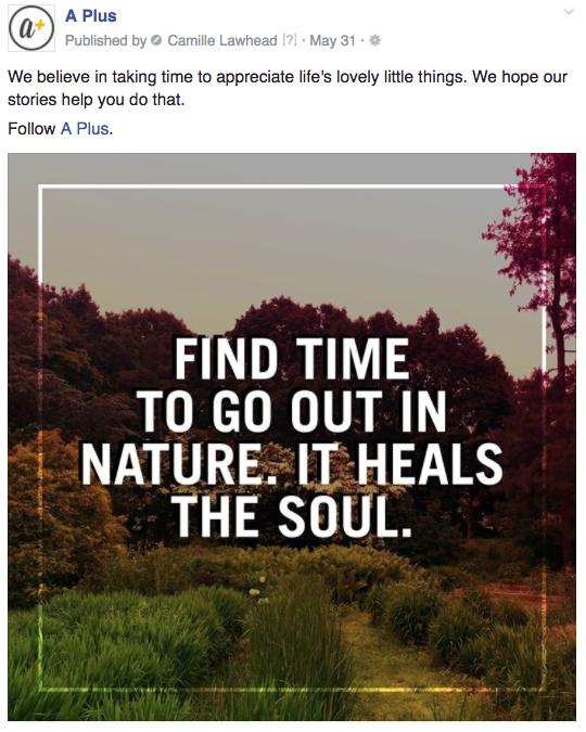 A Plus nature