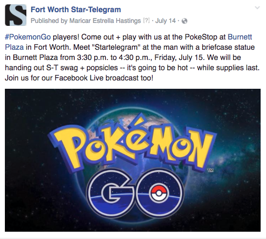FW Pokemon Go invite boosted