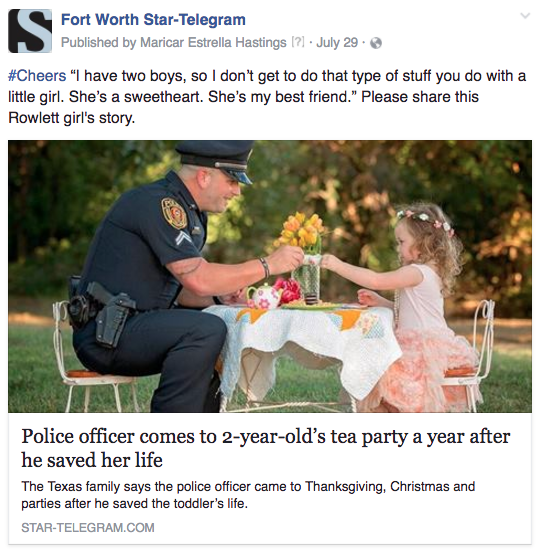 FW officer tea