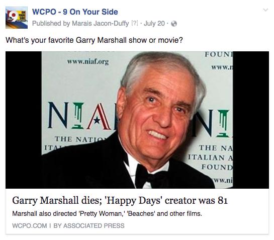 WCPO Gary Marshall