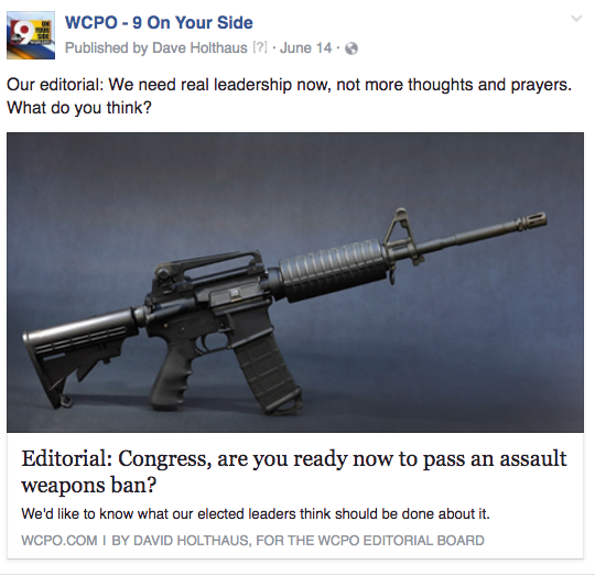 WCPO assault weapons ban