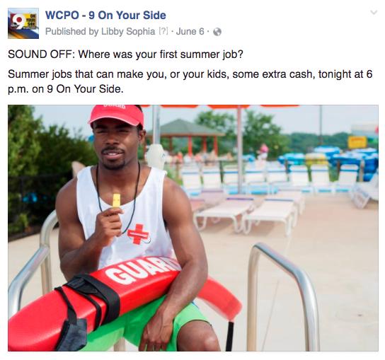 WCPO summer jobs