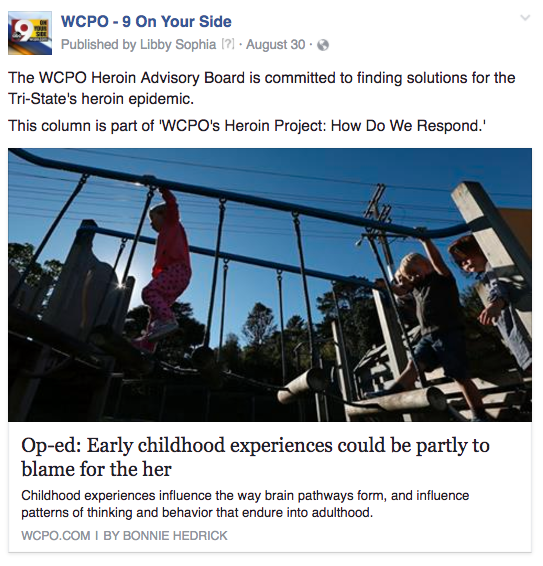 WCPO heroin board
