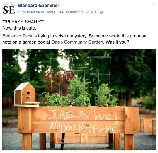 Ogden garden proposal