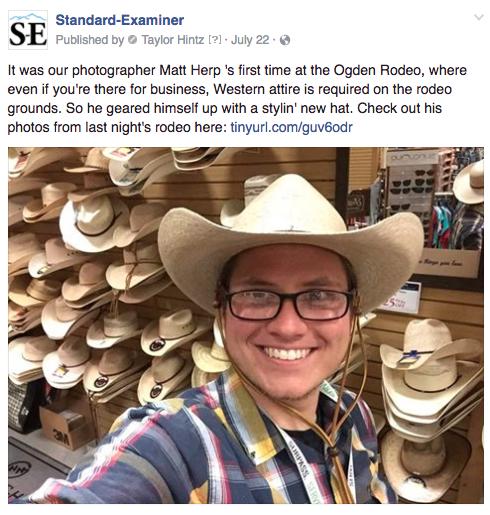 Ogden rodeo reporter