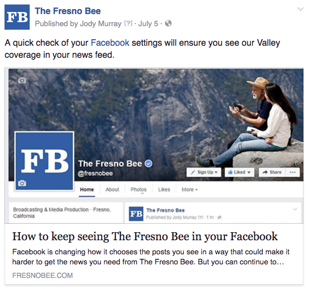 Freso Facebook changes