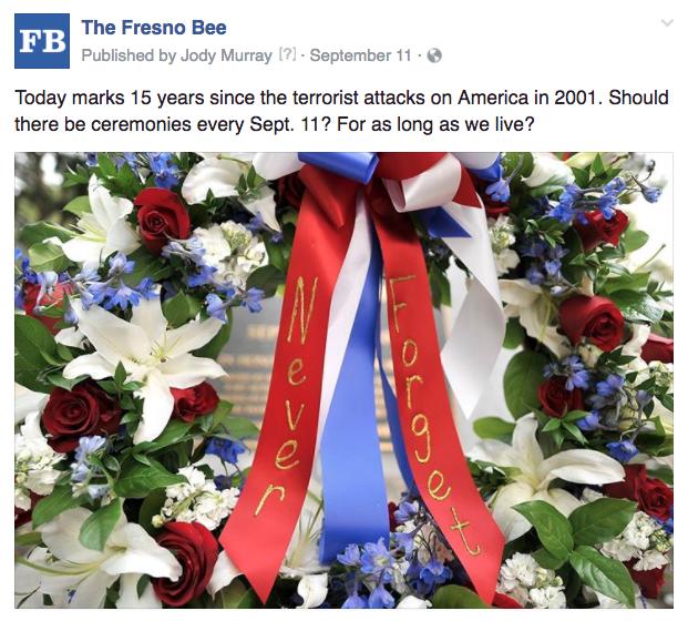 Fresno 911 ceremonies