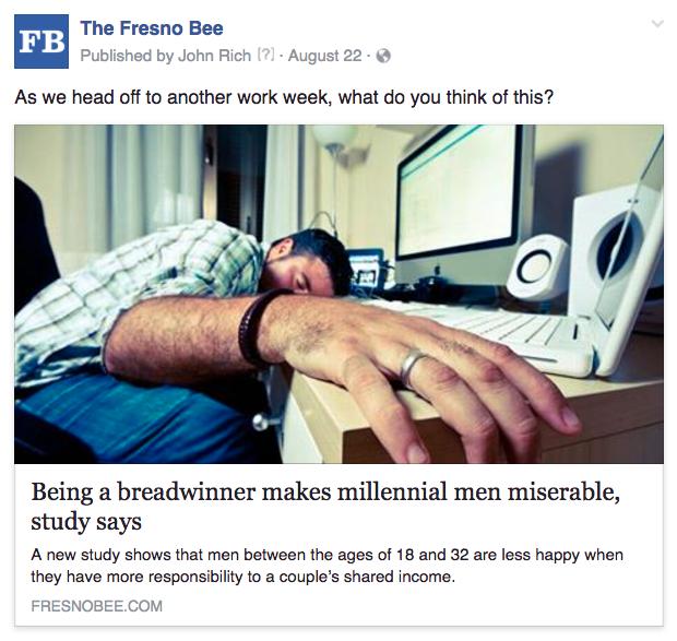 Fresno millennial men