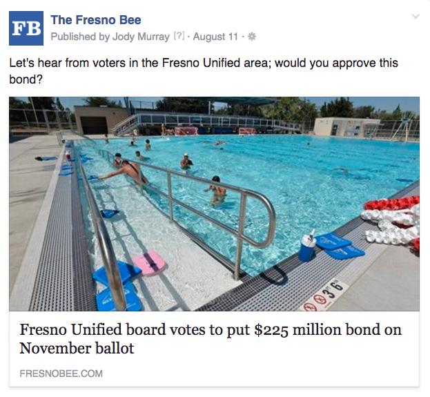 Fresno bond approval