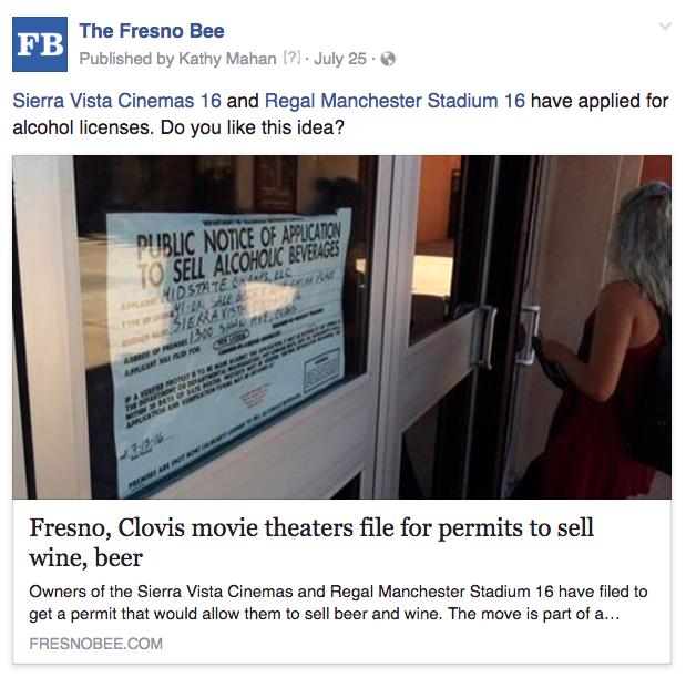 Fresno liquor license