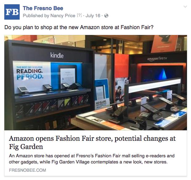 Fresno Amazon store