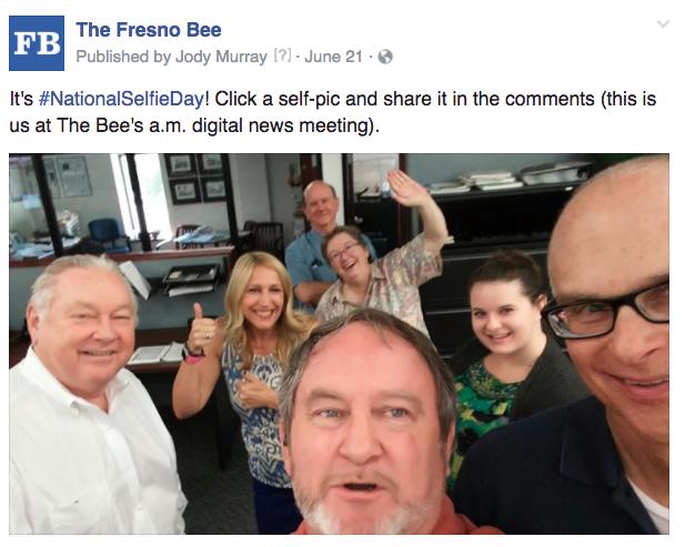 Fresno selfie day