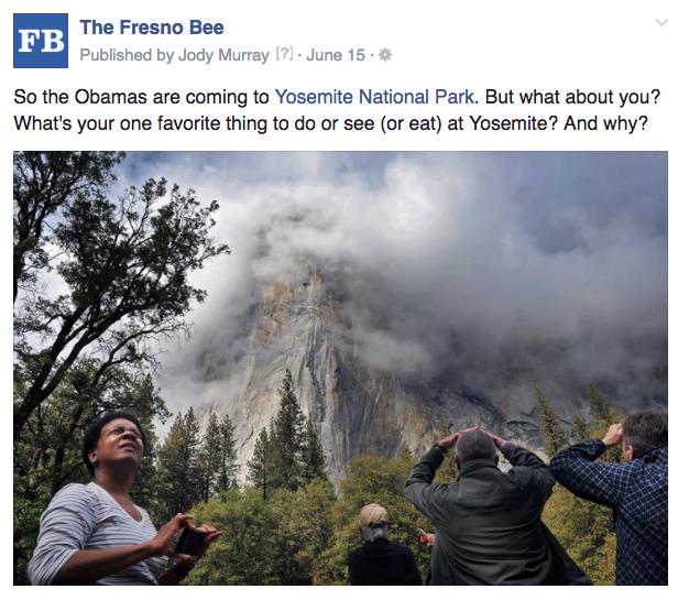 Fresno Obamas Yosemite