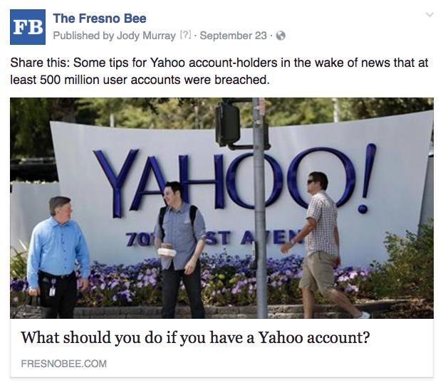 Fresno Yahoo tips