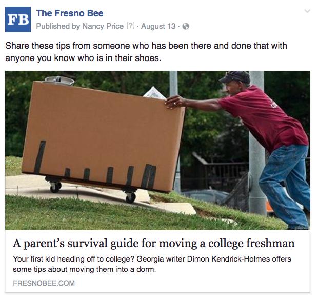 Fresno college freshmen