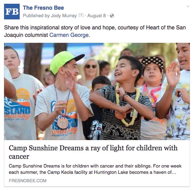 Fresno kids cancer