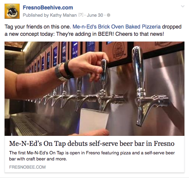 Inviting users to tag friends can be an effective way to encouraging sharing.