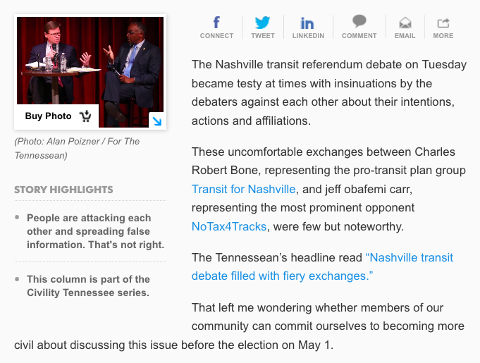Screenshot from tennessean.com
