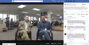 The Standard-Examiner hosted a Facebook Live to describe how their news process works. During the video the newspaper's executive editor and publisher talked about how they make coverage decisions, select stories and how the editorial process works. They took questions live from the audience and received more than 2,000 views.