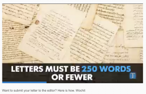 Video: How to Submit a Letter to the Editor