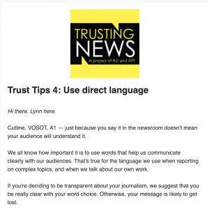 Trust Tips 4: Use Direct Language